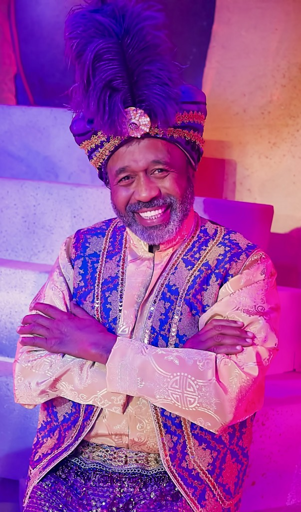 "Ben Vereen stars as ""The Genie"" in the Pasadena Playhouse production, 'Aladdin and His Winter Wish'"