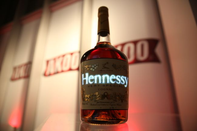 Hennessy Luminous bottle