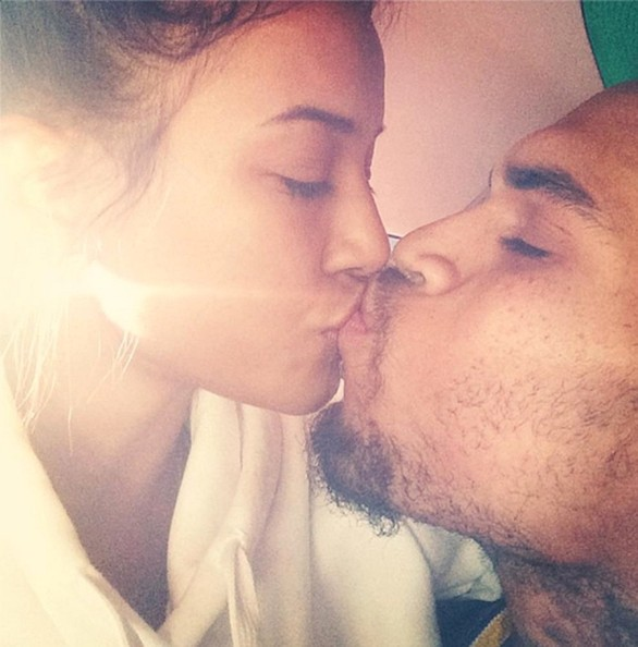 Karrueche Tran chris brown