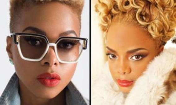 Leela James and Chrisette Michele