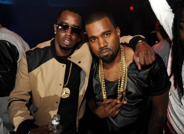 P. Diddy and Kanye West