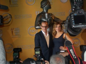 Clark Gregg (ABC) and Sasha Alexander (TNT) announce the 2th Annual SAG Awards' nominations.