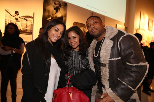 Sharon Carpentor Angela Yee and Maino