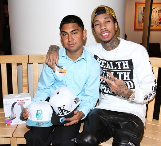 Tyga and Isael Lopez