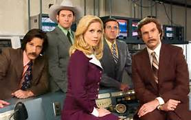 Will Ferrell (right) is back as Ron Burgundy in the Paramount Pictures presentation of Anchorman 2: The Legend Continues.