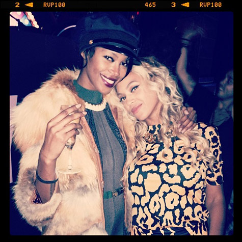 Beyonce with Jessica White
