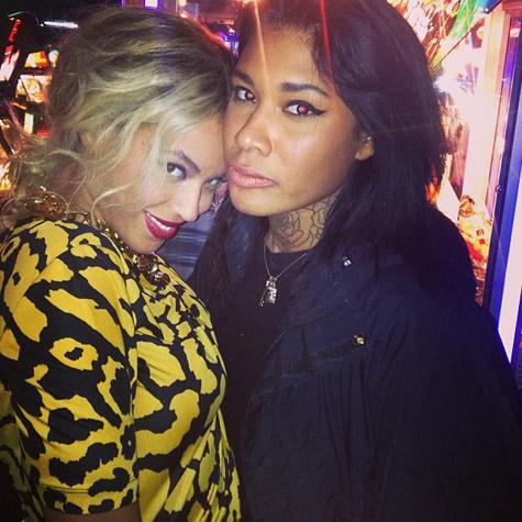 Beyonce with Danii Phae
