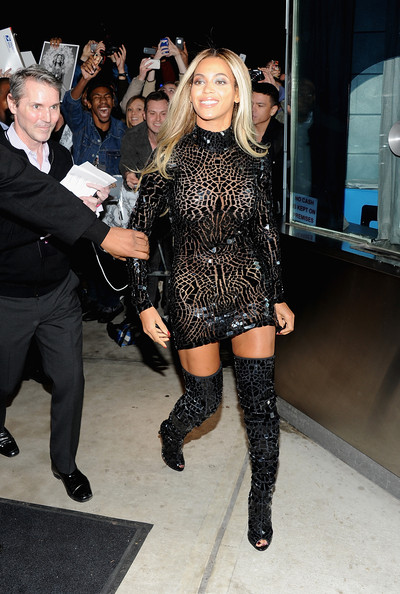 "Beyonce attends a release party and screening for her new self-titled album ""Beyonce"" at the School of Visual Arts Theater on December 21, 2013 in New York City"