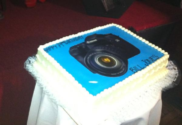bill jones bday - cake