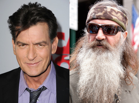 charlie sheen phil robertson