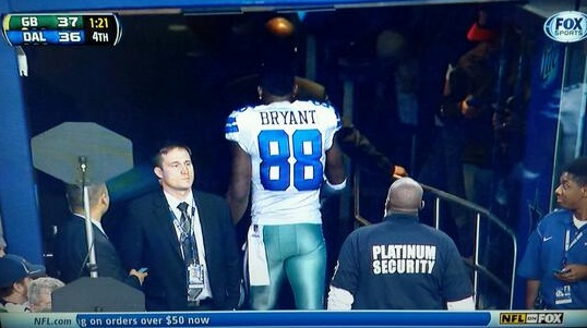 Dallas' Dez Bryant Left the Field Early to Cry in Private | EURweb