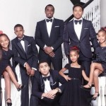 Diddy Posts Family Christmas Photo with All Six Kids