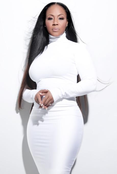 erica campbell (all white -long hair)