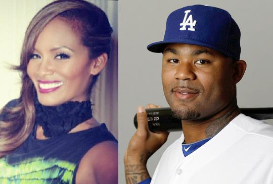 evelyn lozada & carl crawford