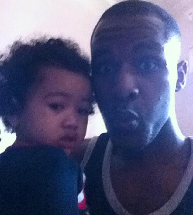 Merrick McKoy posted this photo of him and his daughter on Facebook moments before he killed her