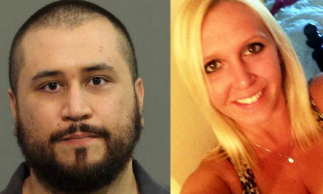 George Zimmerman and Samantha Scheibe