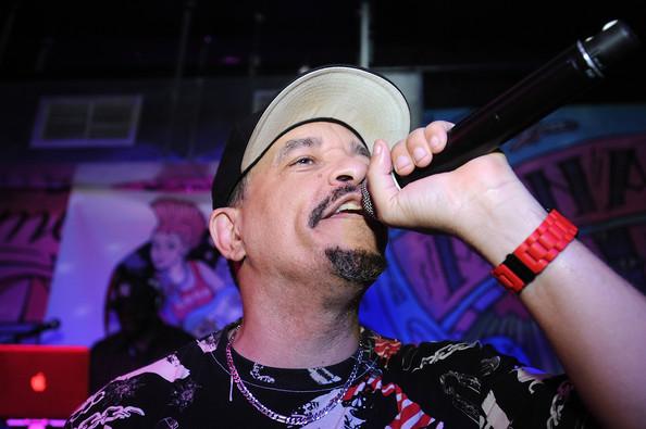 Ice-T performs at the CBGB Music & Film Festival 2013 - By Invitation Only ICE-T Performance on October 12, 2013 in New York City