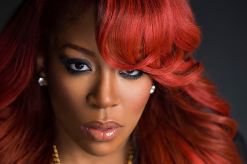 K Michelle Disses Fans In a Most Creative Way: 'Still No F ... K Michelle 2013 Photoshoot