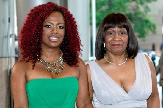 Kandi Burruss and Mama Joyce