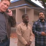 Too Funny! Kevin Hart, Ice Cube And Conan O'Brien Hitchhike With A Stranger! (Watch)