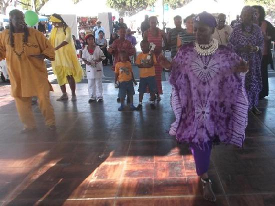LA Sunshine Zone African Dancers