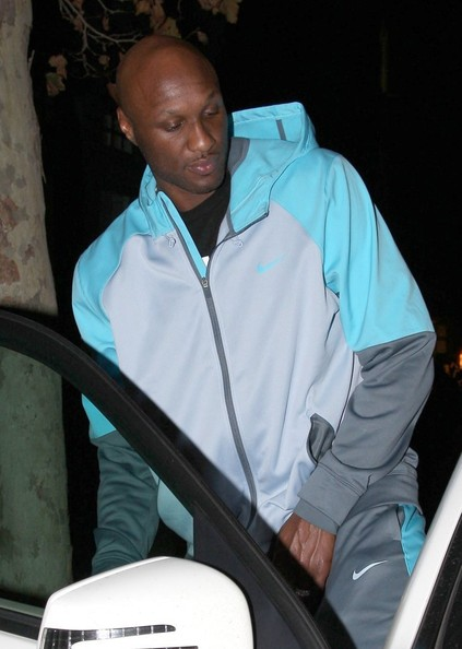 Reality star and former professional basketball player Lamar Odom leaving Tavern Restaurant in Brentwood, California on November 29, 2013