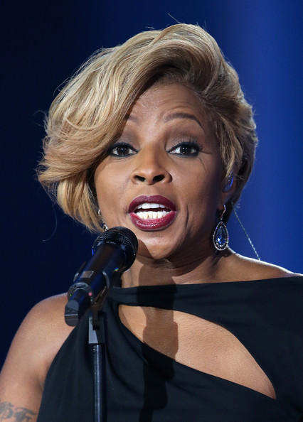 Mary J. Blige performs on stage during the 20th annual Nobel Peace Prize Concert on Wednesday, December 11th at the Oslo Spektrum arena in Oslo, Norway