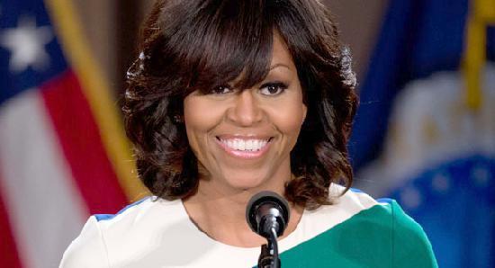 michelle obama (smile)