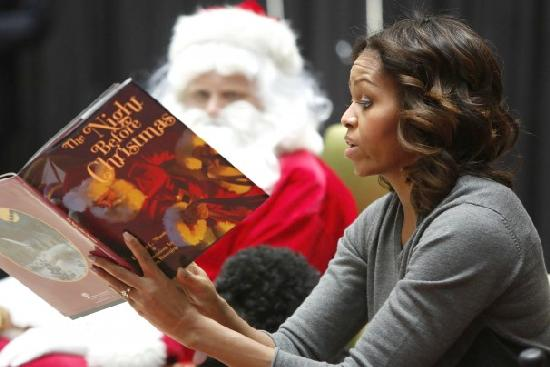 michelle obama (the night before christmas1)