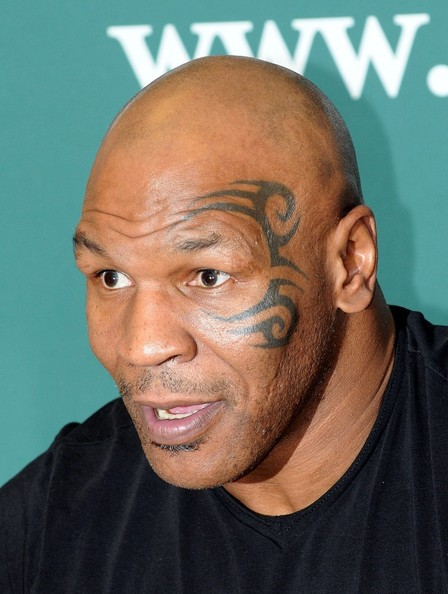 "Mike Tyson promotes his book ""Mike Tyson: the Undisputed Truth"" at Barnes & Noble. (November 13, 2013)"
