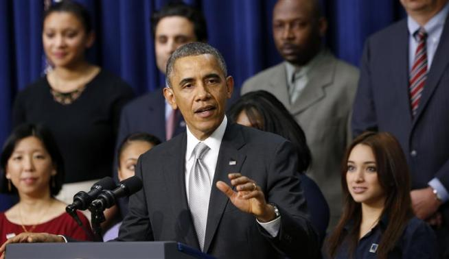 President Barack Obama speaks about the Affordable Care Act at the White House in Washington December 3, 2013.