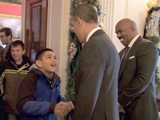 president obama & steve harvey