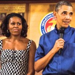Obamas Visit Troops at Hawaii Marine Corps Base