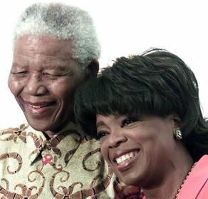 oprah and mandela