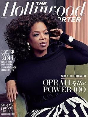oprah (hollywood reporter cover)