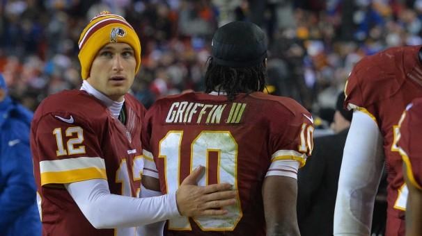 Kirk Cousins and Robert Griffin III