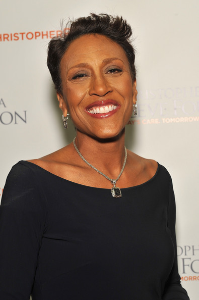 Robin Roberts attends the Christopher & Dana Reeve Foundation's A Magical Evening Gala at Cipriani, Wall Street on November 21, 2013 in New York City