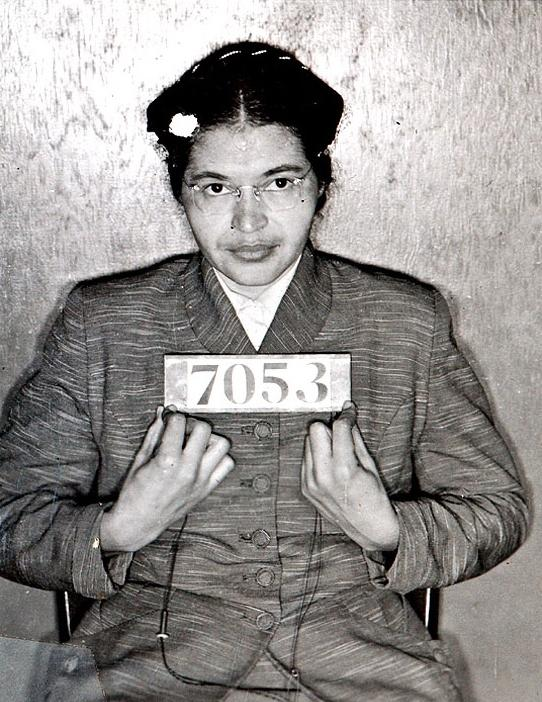 rosa parks (1956 booking photo)