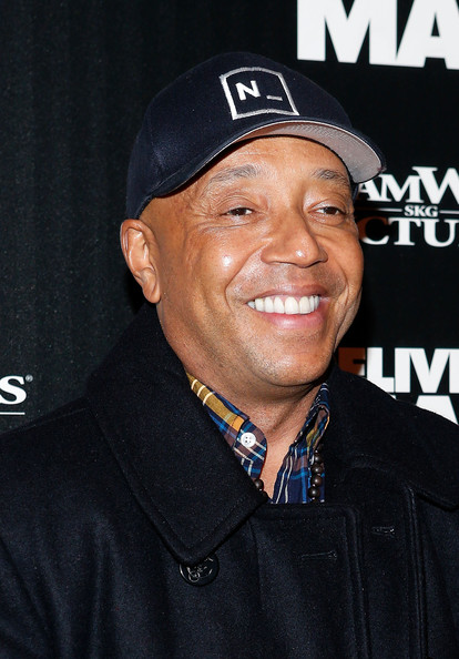 Russell Simmons attends the screening of 'Delivery Man' hosted by DreamWorks Pictures and The Cinema Society at Paley Center For Media on November 17, 2013 in New York City