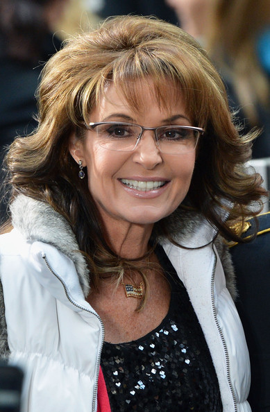 Former Governor of Alaska Sarah Palin visits NBC's 'Today' at the NBC's TODAY Show on November 11, 2013 in New York