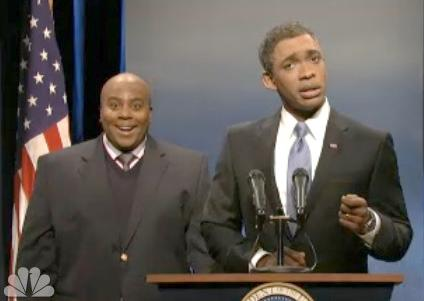snl (fake interpreter & obama)