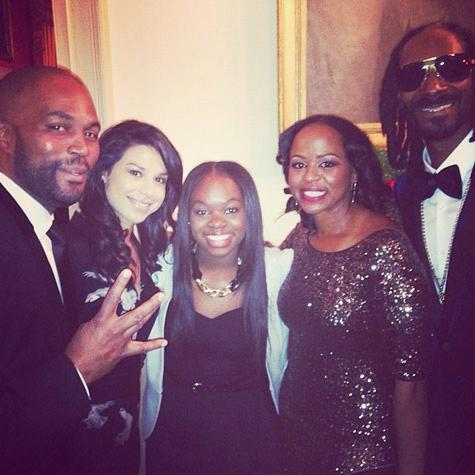 snoop dogg & family at white house