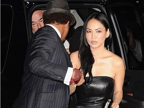 terrence howard & 4th wife, niranda