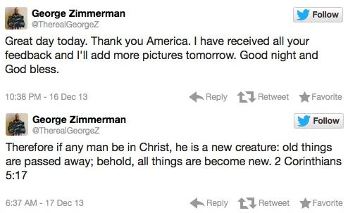 zimmerman tweets
