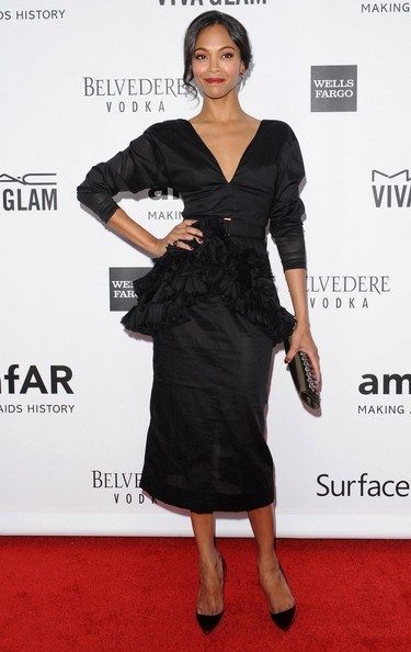 Arrivals at the amfAR Inspiration Gala at the Milk Studios in Los Angeles on December 12, 2013