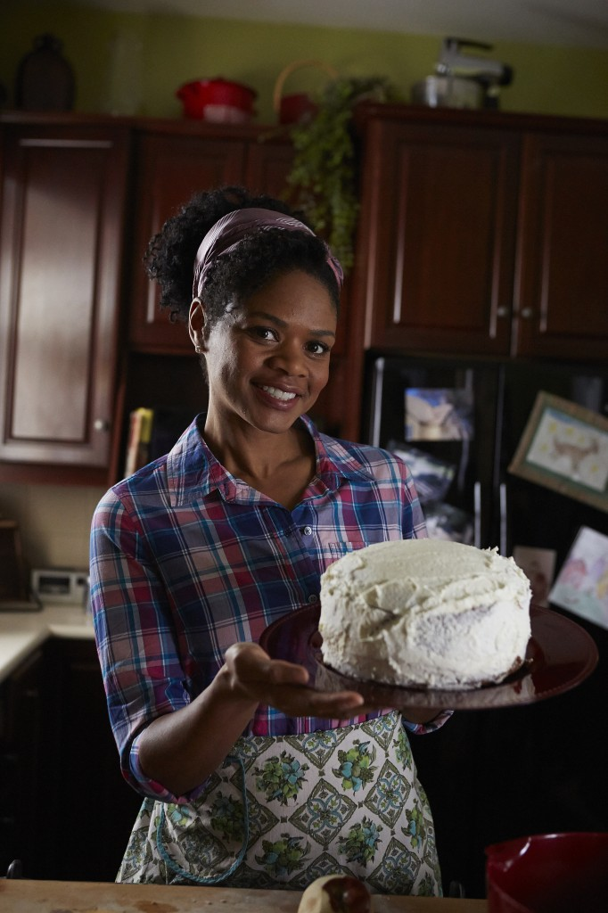 "Kimberly Elise as Angela Logan in UP's ""Apple Mortgage Cake"""