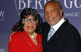 Anna Gordy Gaye and Berry Gordy