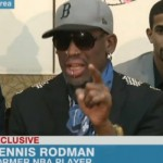Dennis Rodman Blames CNN Interview Conduct on the Alcohol