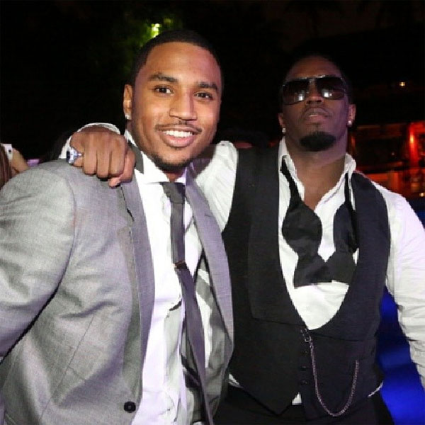 Trey Songz and Diddy
