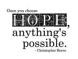 Hope, C Reeve